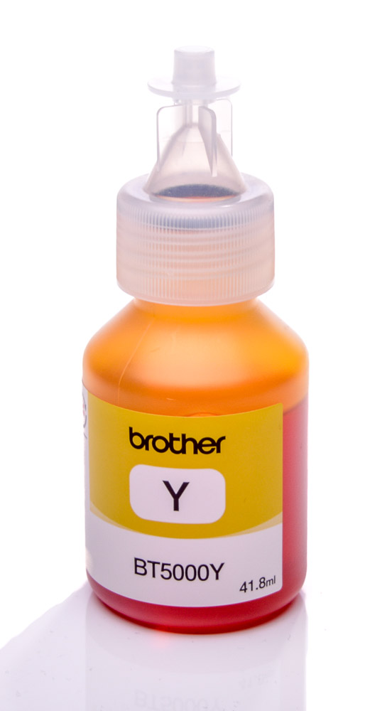 Brother BT5000Y Yellow genuine dye ink refill Replaces DCP-J315W