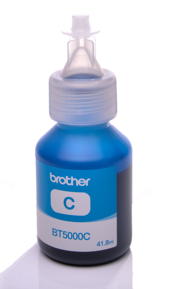 Brother BT5000C Cyan genuine dye ink refill Replaces DCP-J152W