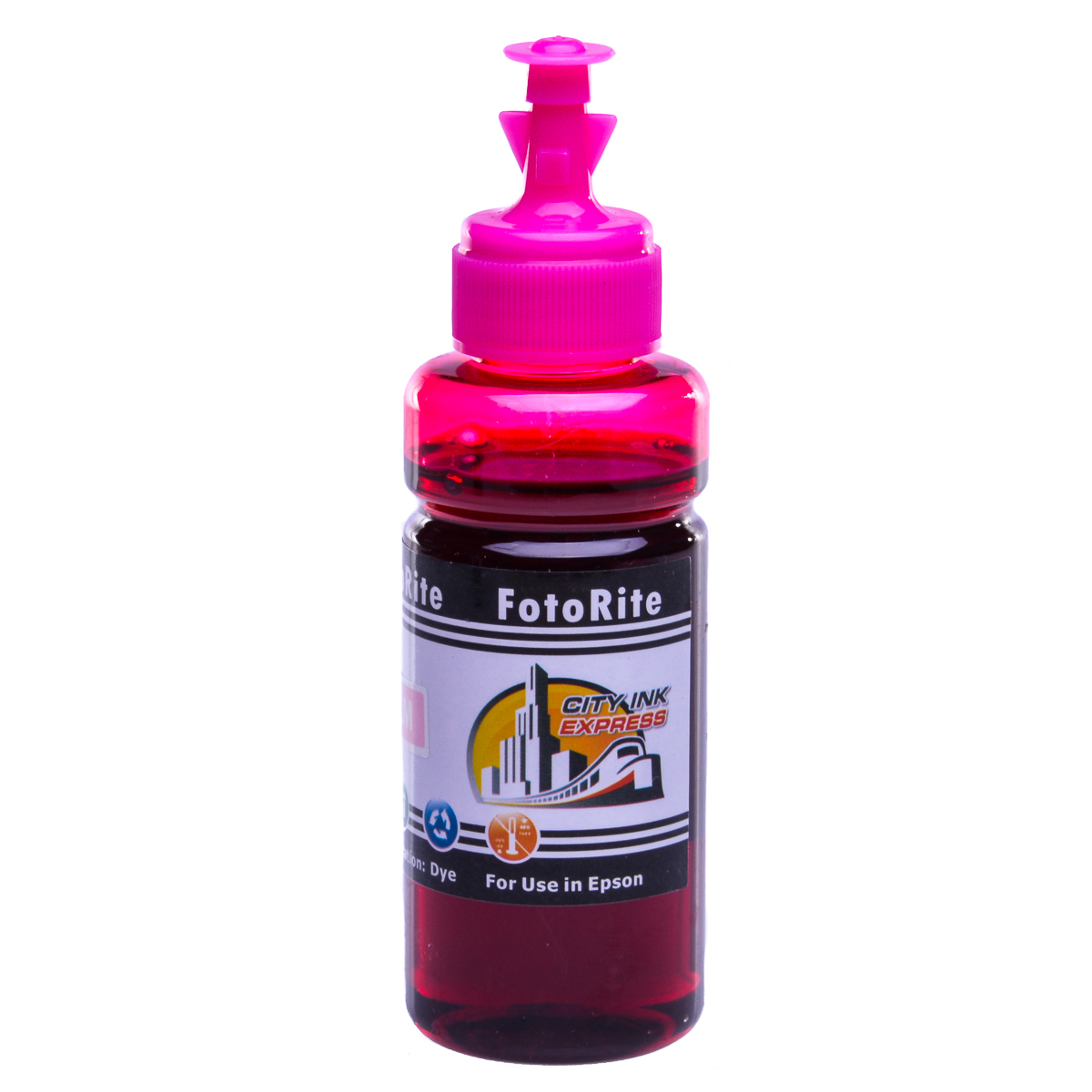 Cheap Light Magenta dye ink refill replaces Epson L850 - T6736