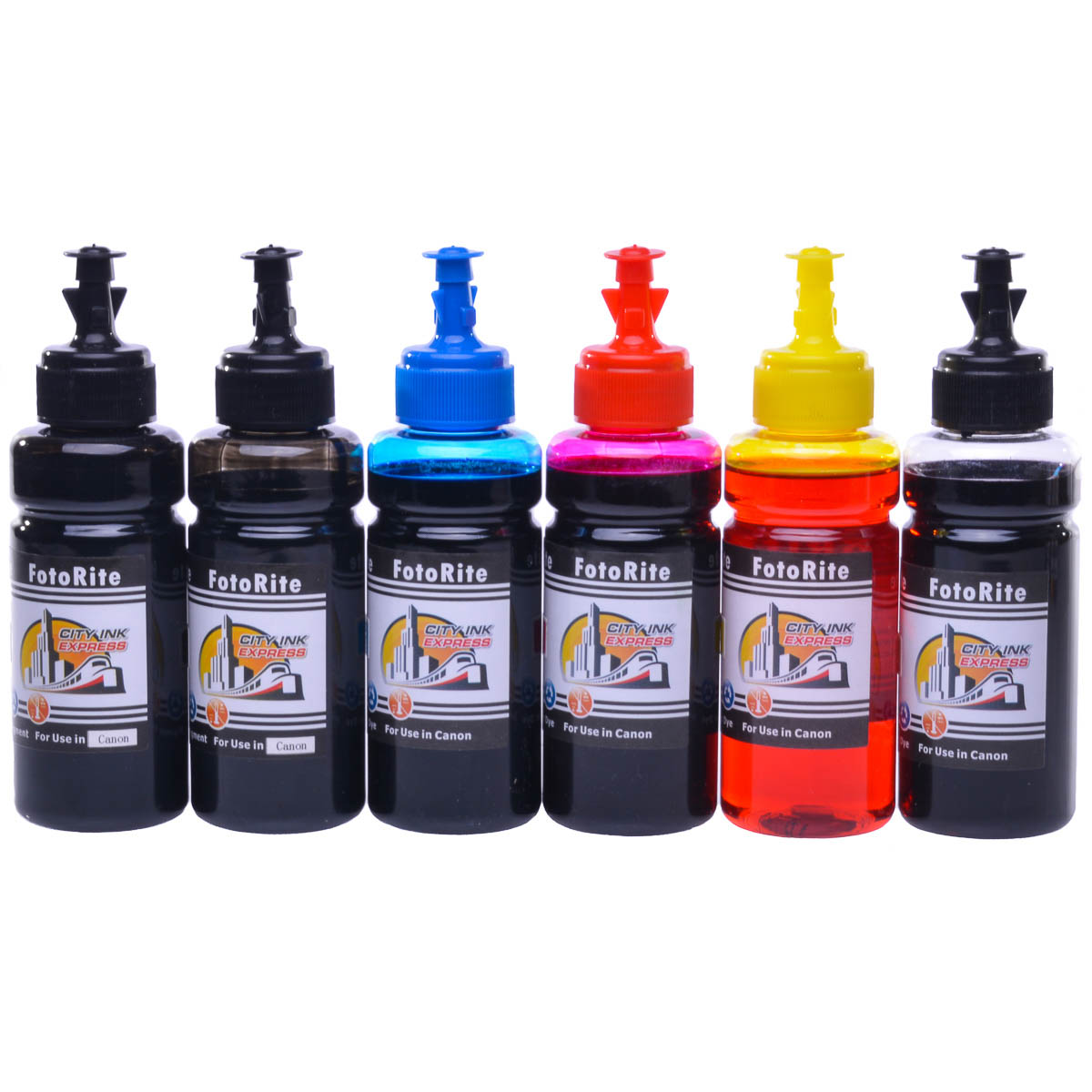 Cheap Multipack dye and pigment refill replaces Canon Pixma TS9055