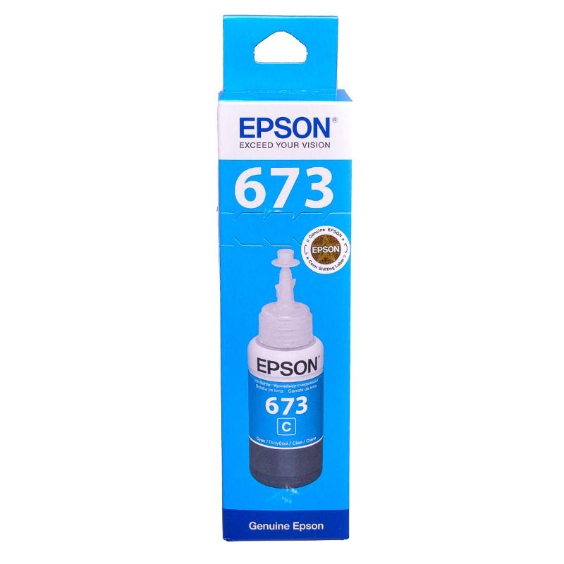 Epson T6732 Cyan original dye ink refill Replaces XP-8600