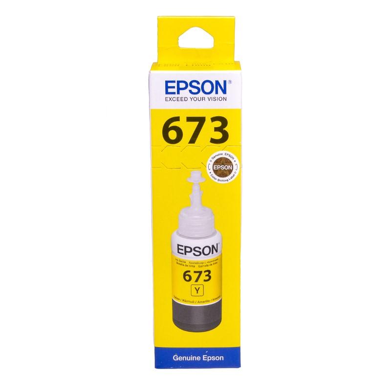Epson T6734 Yellow original dye ink refill Replaces XP-8600