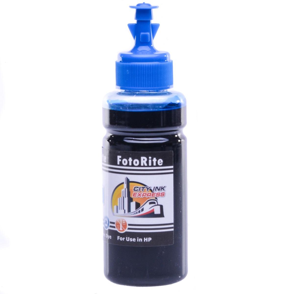 Cheap Cyan dye ink refill replaces HP Envy Envy Photo 7130 - HP303,HP303XL