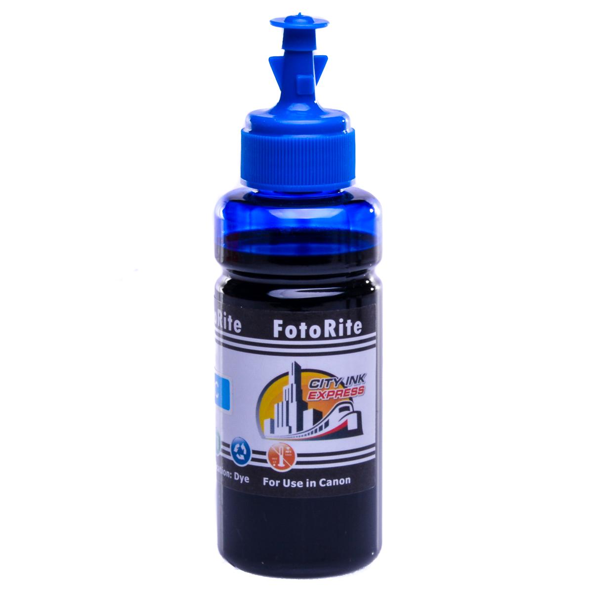 Cheap Cyan dye ink replaces Canon Pixma TR7550 - CLI-581C