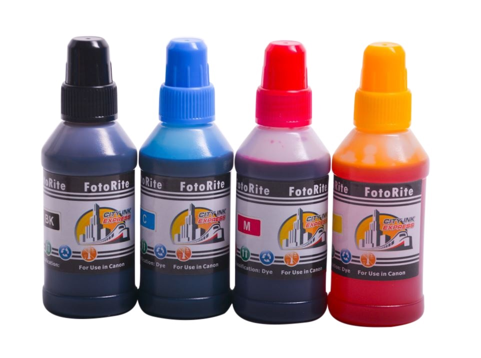 Cheap Multipack dye ink refill replaces Canon Pixma GM2050