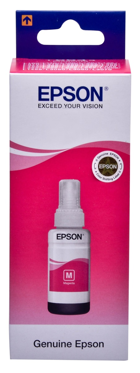 Epson 103-MG Magenta original dye ink refill Replaces L3100