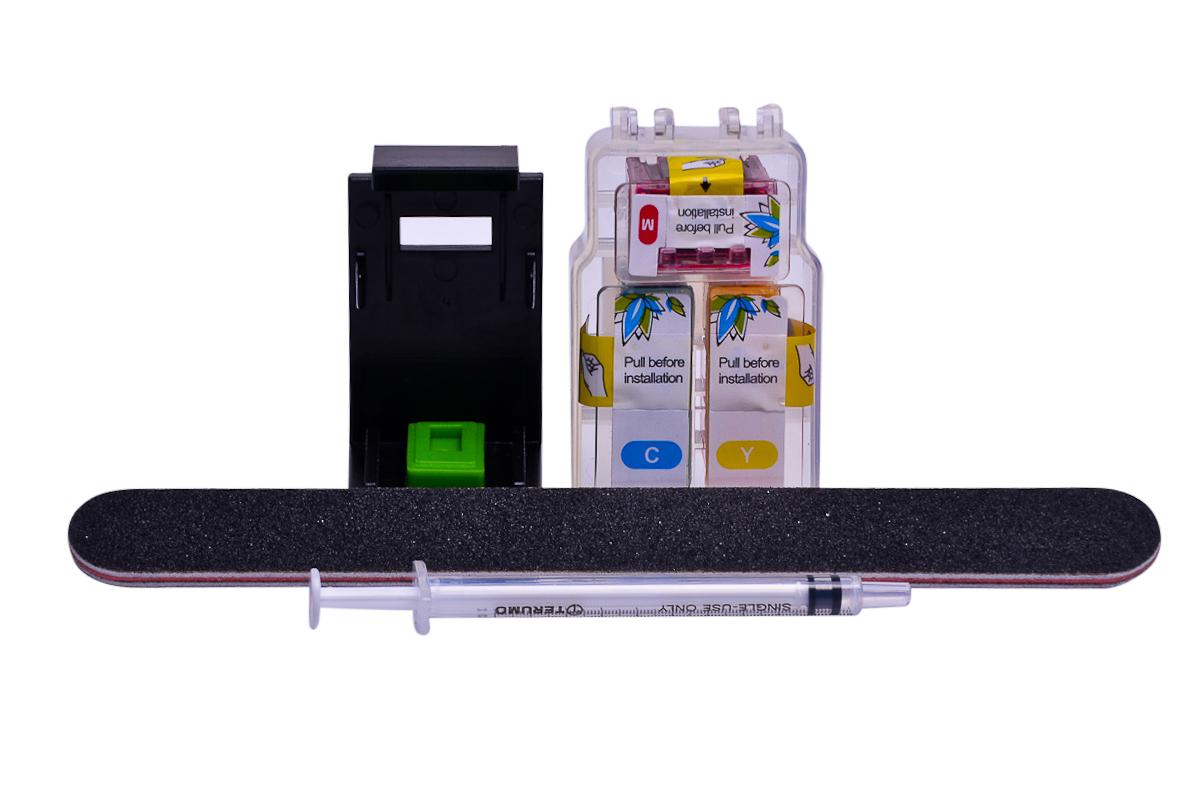 Cheap Colour Pod dye ink replaces Canon Pixma MG2550S - CL-546XL x 1 with clip