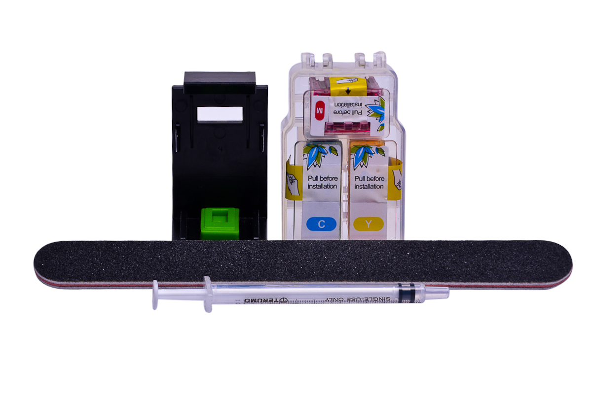 Cheap Colour Pod dye ink replaces Canon Pixma MX495 - CL-546XL x 1 with clip