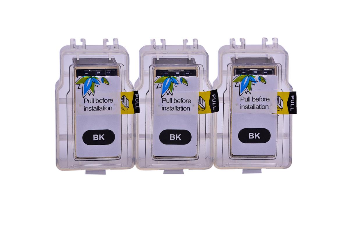 Cheap Black Pod pigment ink replaces Canon Pixma TS5350 - PG-560xl x3