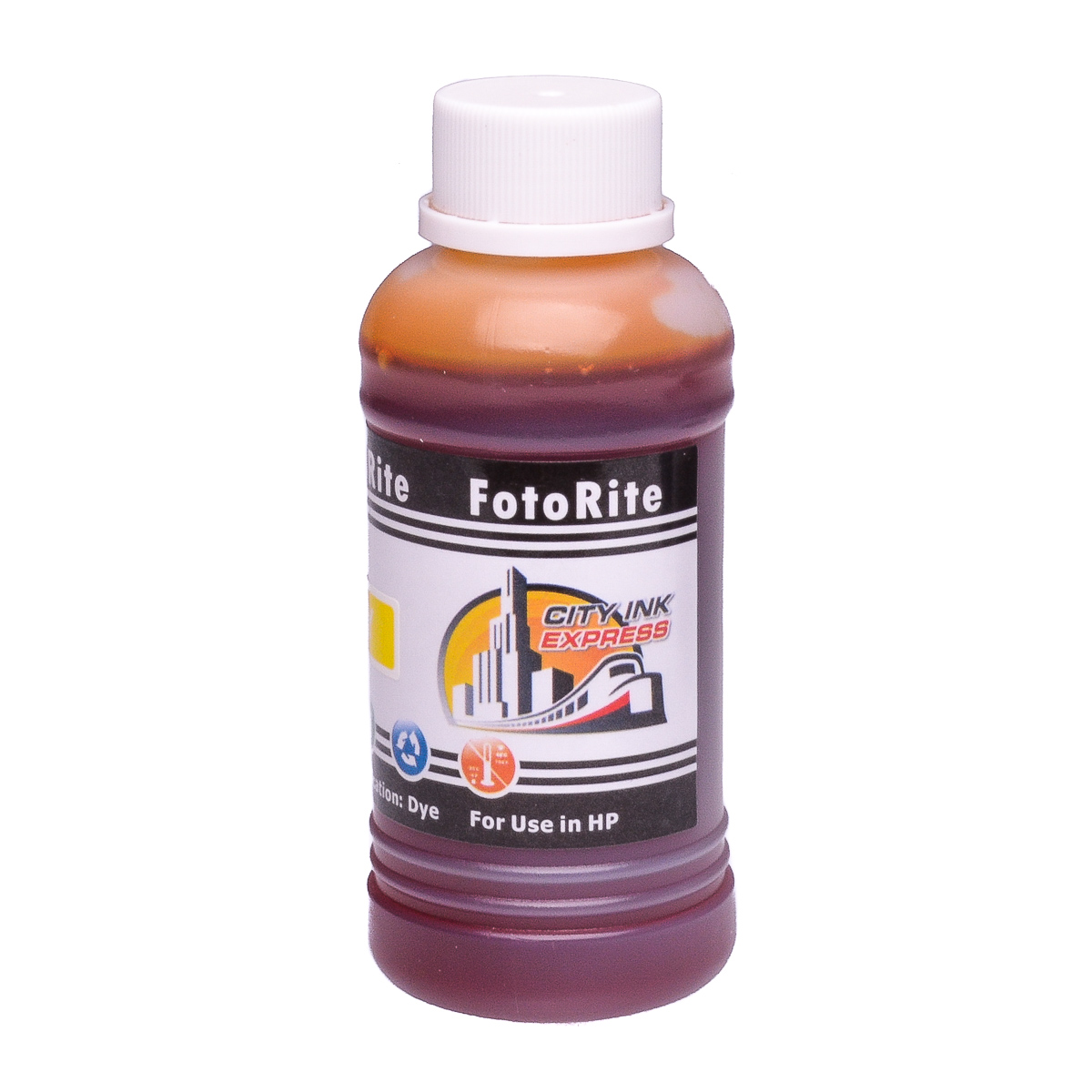 Cheap Yellow dye ink refill replaces HP Officejet Pro HP 88 - C9388AE