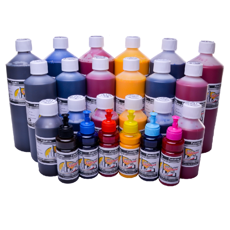 Dye Sublimation ink refill for Epson WF-7525 printer