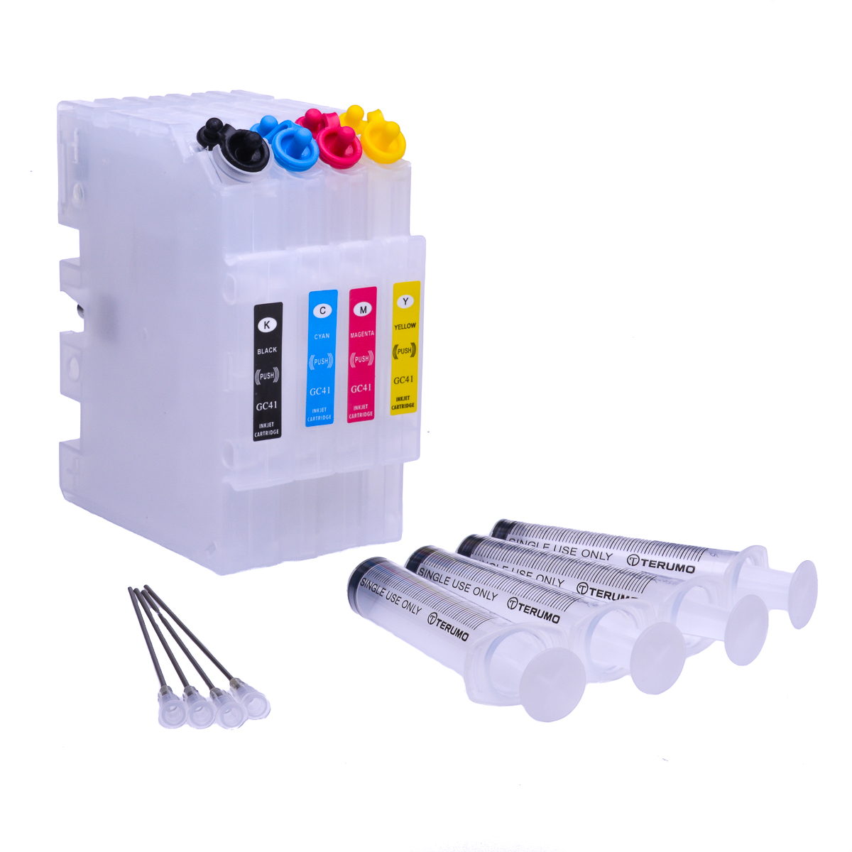 Refillable Sublimation ink cartridge for Ricoh GXe7700N printer #2