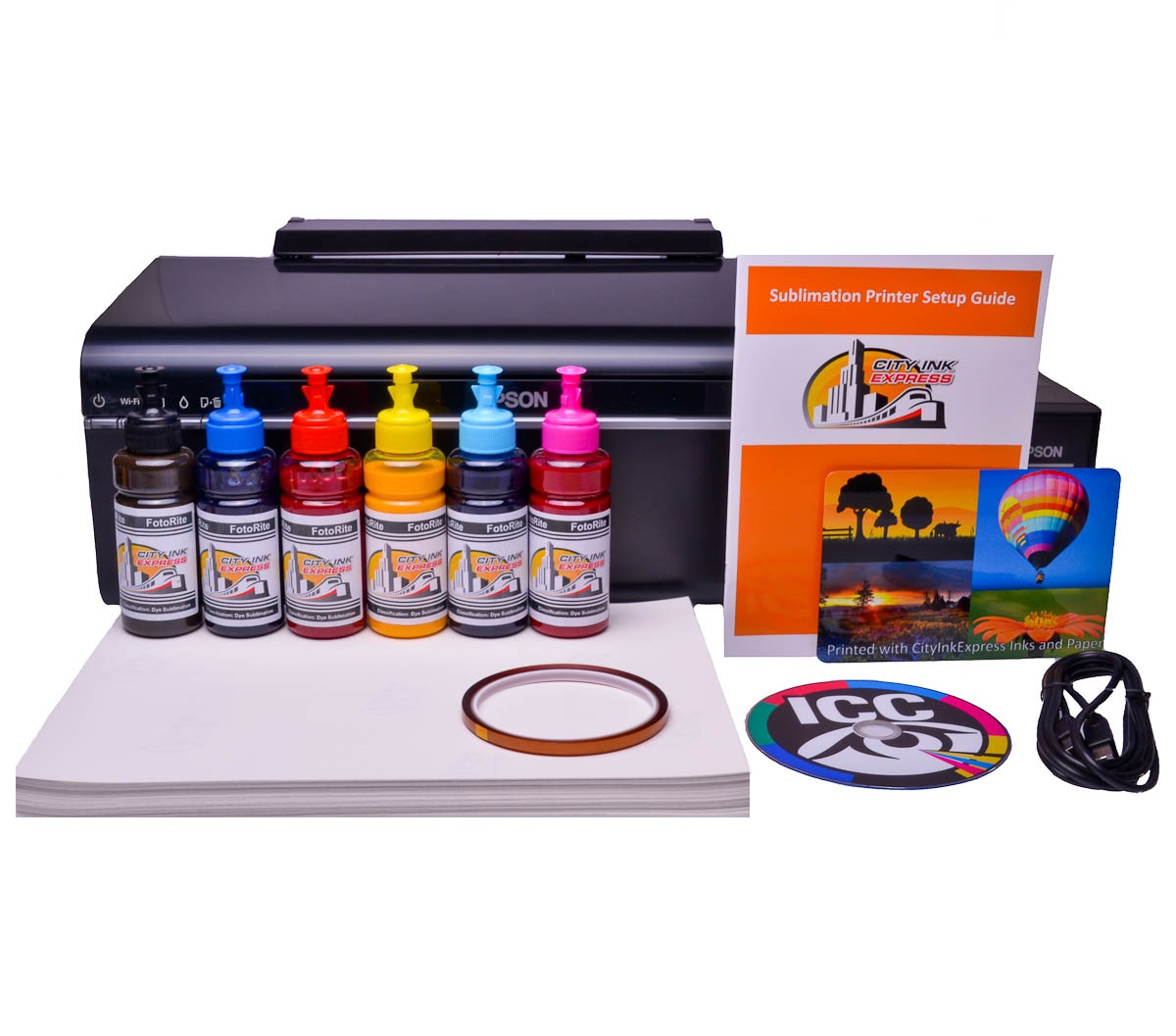 Sublimation printer package for Epson L805 printer
