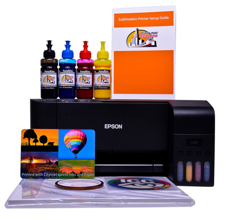 Sublimation printer package for Epson L3150 printer