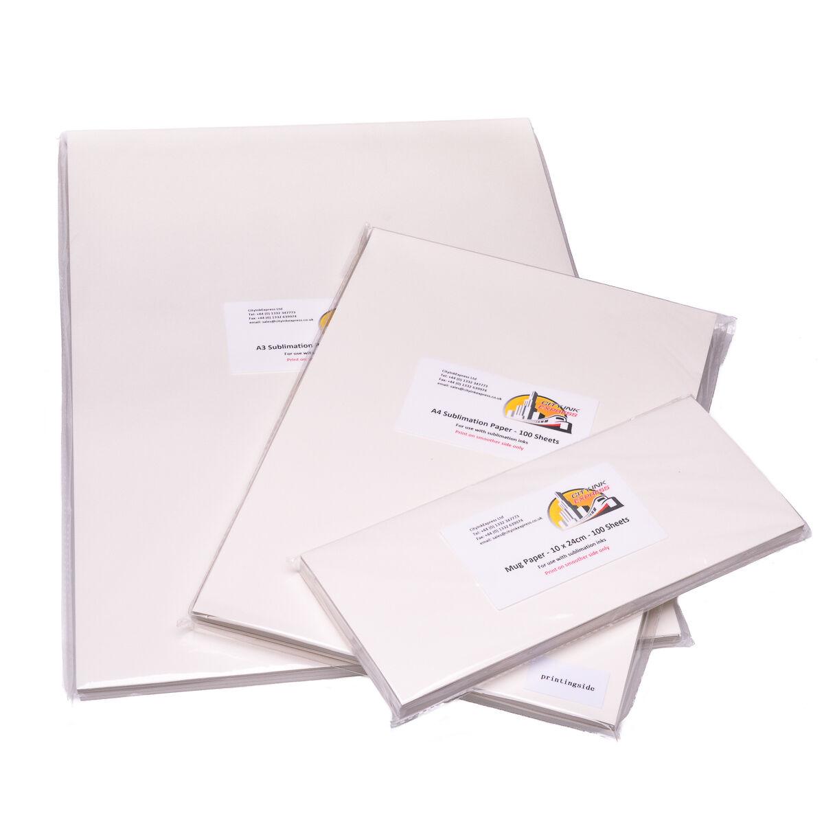 Dye Sublimation Paper for Epson WF-2830DWF printer