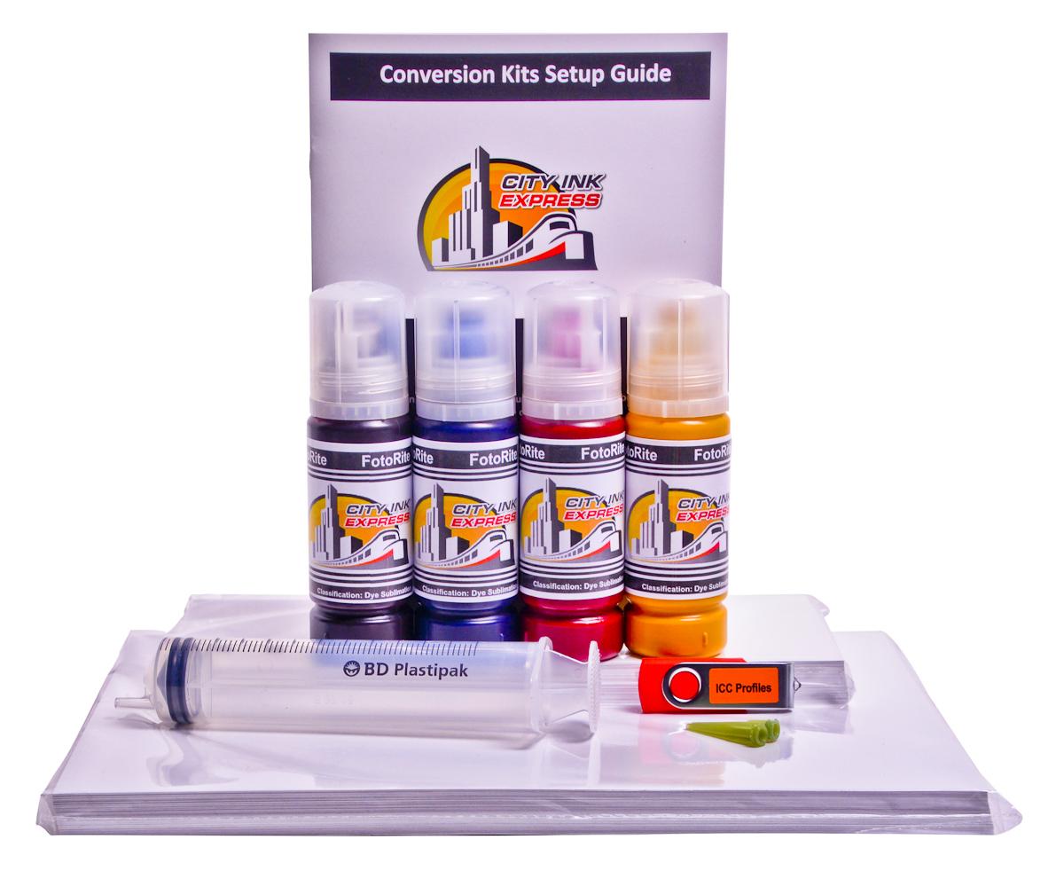 Dye Sublimation conversion kit for Epson ET-2715 printer