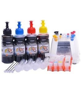 Ciss for HP Photosmart B111e, dye ink
