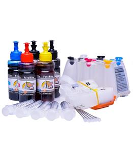 Ciss for Epson XP-720, dye and pigment ink