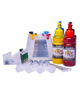 Ciss for Epson WF-2630WF, pigment ink