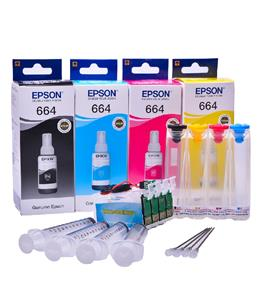 Ciss for Epson XP-335, with Epson Genuine Ink