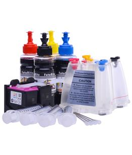 Ciss for HP Envy 5546 e-All-in-One, dye and pigment ink