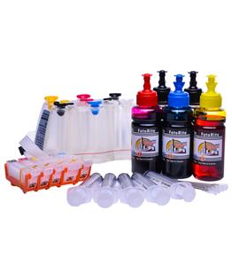 Ciss for Canon MG5250, dye and pigment ink