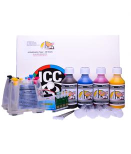 Dye Sublimation ink system - Fits Epson XP-225 Printer