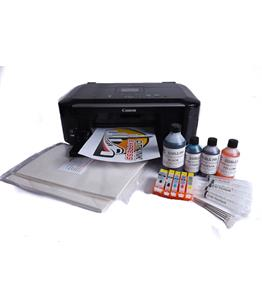 Edible ink starter kit with Canon MG5550 A4 with Scanner value Kit