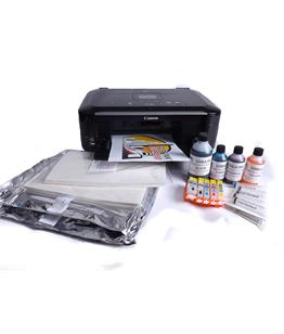Premium Edible ink kit with Canon MG5550 A4 printer with Scanner