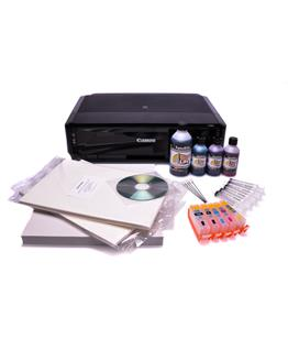 Canon IP7250 Edible ink printer -  Edible starter kit 50 wafer - 20 Deco Royal Icing