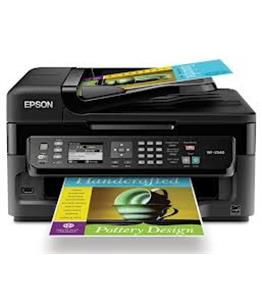 Continuous ink system - printer bundle for the Epson WF-3520DWF A4 printer