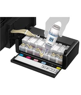 Continuous ink system - printer bundle for the Epson L810 Eco Tank - Genuine Ink A4 printer