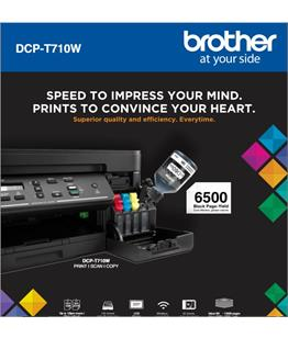 Continuous ink system - printer bundle for the Brother DCP-T710W Refill Tank System - A4 printer