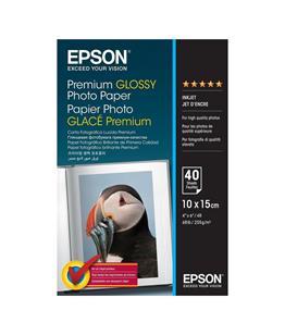 Premium Glossy Photo paper 10x15cm 40 sheets