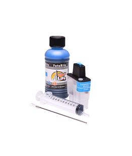 Refillable LC-900C Cyan Cheap printer cartridges for Brother DCP-310CN LC900C dye ink