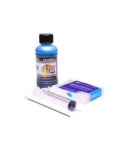 Refillable LC-1000C Cyan Cheap printer cartridges for Brother DCP-550CN LC970C dye ink
