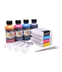 Refillable LC-1000 Multipack Cheap printer cartridges for Brother DCP-550CN LC1000 dye ink