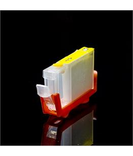 Empty Refillable BCI-6Y Yellow Cheap printer cartridges for Canon Pixma IP3000 4708A002