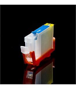 Empty Refillable BCI-6C Cyan Cheap printer cartridges for Canon Pixma IP4000 4706A002