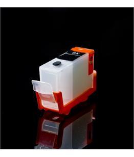 Empty Refillable BCI-3EBK Pigment Black Cheap printer cartridges for Canon Pixma IP4000 4479A287