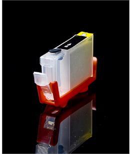 Empty Refillable BCI-6BK Black Cheap printer cartridges for Canon Pixma IP6000D 4705A002