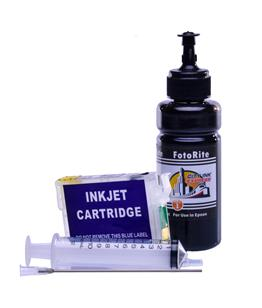 Refillable pigment Cheap printer cartridges for Epson Stylus SX625FWD C13T13014010 T1301 Black