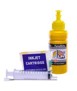 Refillable pigment Cheap printer cartridges for Epson Stylus BX320FW C13T13044010 T1304 Yellow