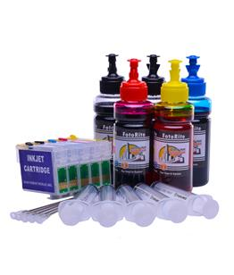 Refillable T0715 Multipack Cheap printer cartridges for Epson Stylus D120 C13T07154010 dye ink