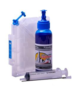 Refillable pigment Cheap printer cartridges for Ricoh GX3050N Ricoh GC21 405333 Cyan