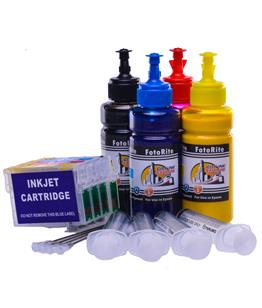 Refillable pigment Cheap printer cartridges for Epson WF-2510wf C13T16364010 T1636 Multipack