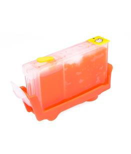 Yellow printhead cleaning cartridge for Canon Bubble Jet I850 printer