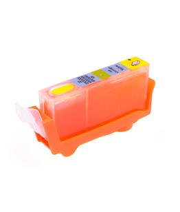 Yellow printhead cleaning cartridge for Canon Pixma MP550 printer