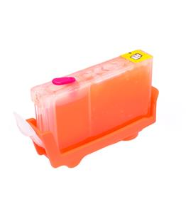 Magenta printhead cleaning cartridge for Canon Bubble Jet I860 printer