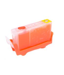 Red printhead cleaning cartridge for Canon Bubble Jet I9950 printer